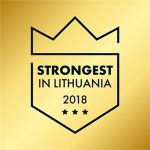 Labectra sertifikatas 2018 - Strongest in Lithuania